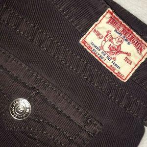 True Religion Billy Big T corduroy pants